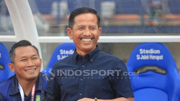 Pelatih Persebaya, Djajang Nurdjaman Copyright: © Arif Rahman/INDOSPORT