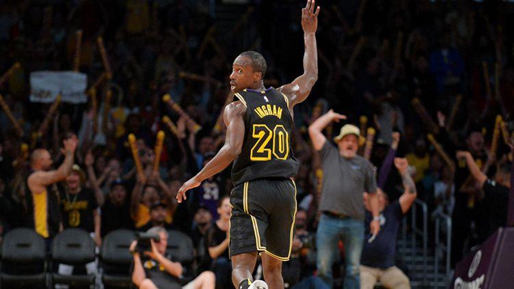 Andre Ingram yang dikontrak Los Angeles Lakers Copyright: © NBA
