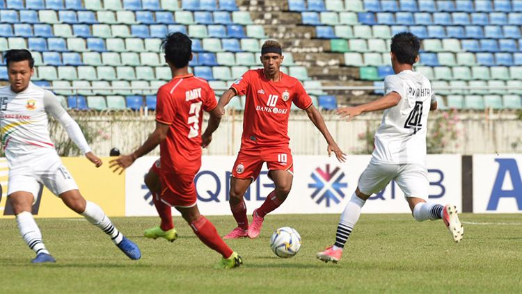 Shan United vs Persija Jakarta. Copyright: © Media Persija