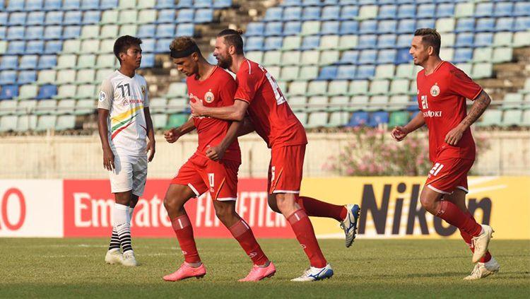 Shan United vs Persija Jakarta Copyright: © Media Persija