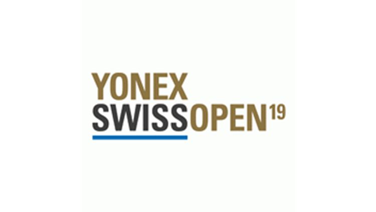 Logo Swiss Open 2019. Copyright: © HSBC BWF World Tour