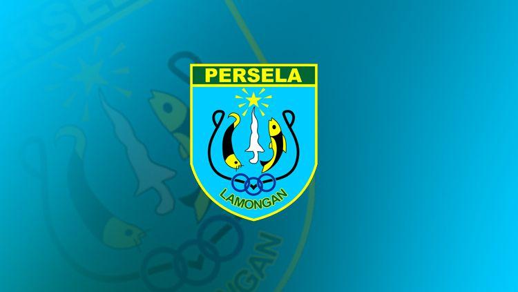 Logo Tim sepak bola Logo Persela Copyright: © INDOSPORT/Yooan Rizky Syahputra