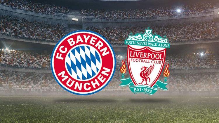 Bayern munchen vs Liverpool. Copyright: © INDOSPORT