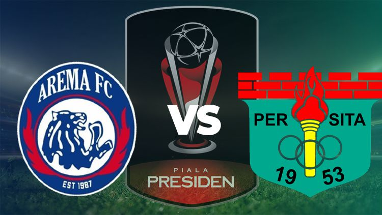 Pertandingan Arema vs Persita Copyright: © INDOSPORT/Yooan Rizky Syahputra