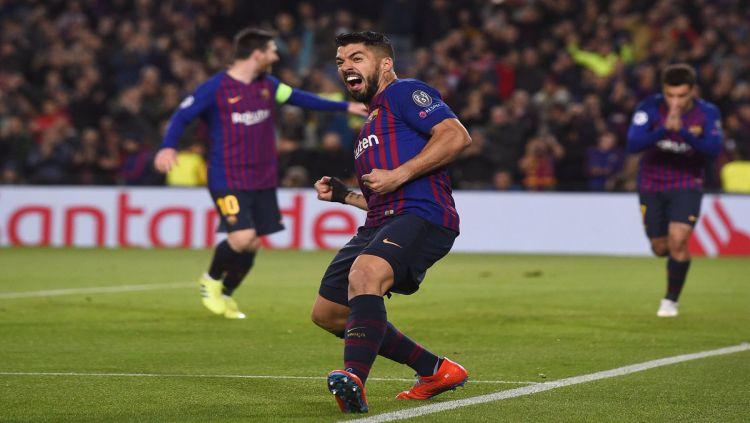 Pemain Barcelona, Luis Suarez Copyright: © Getty Images