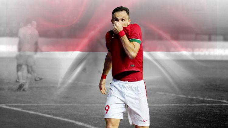 Ilija Spasojevic salah satu pemain yang berhasil di naturalisasi Copyright: © INDOSPORT
