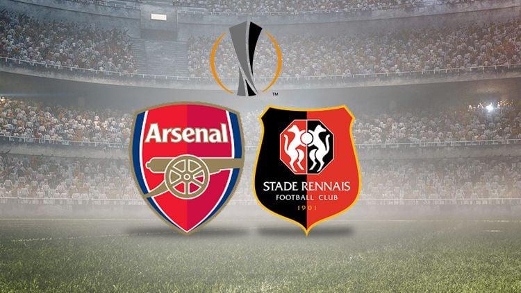 Arsenal vs Rennes Copyright: © INDOSPORT