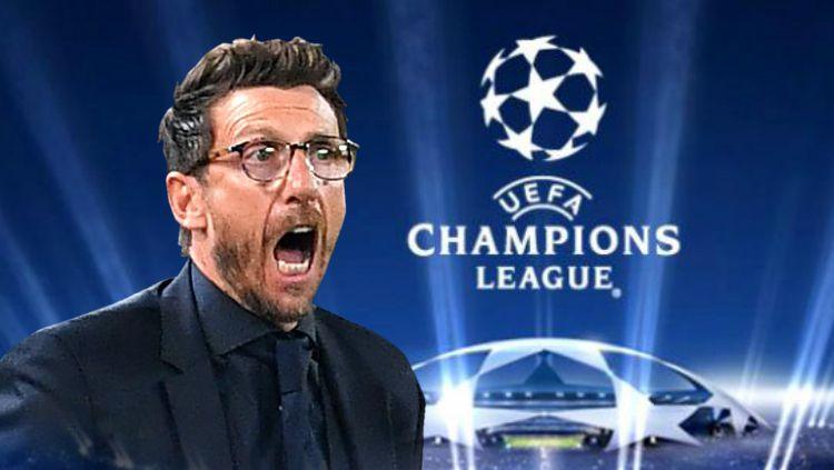 Pelatih yang dipecat akibat sengitnya persaingan di Liga Champions Copyright: © Indosport