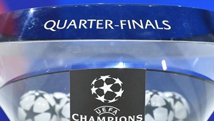 Drawing perempatfinal Liga Champions Copyright: © Liga Champions