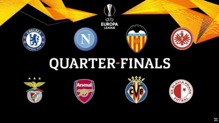 Babak Perempatfinal Liga Europa 2018/19. Copyright: © uefa.com
