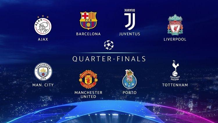 Perempat final Liga Champions 2018/19. Copyright: © Liga Champions