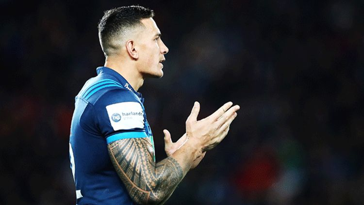 Atlet Rugby Selandia Baru, Sonny Bill Williams. Copyright: © Getty Images