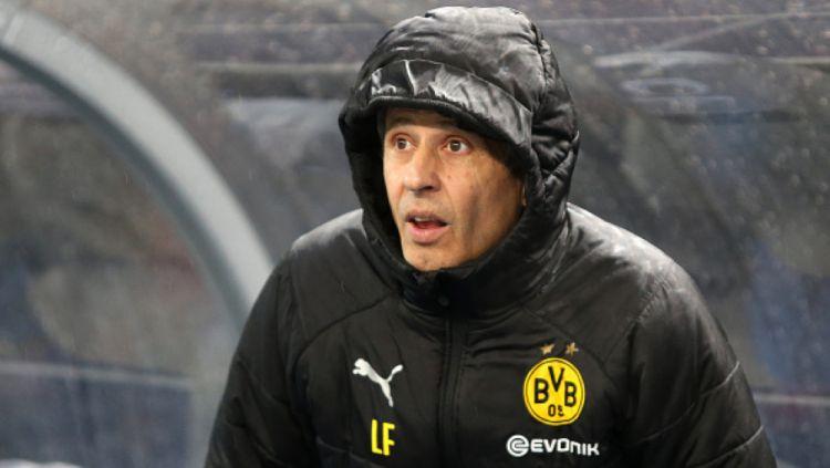 Pelaih Dortmund, Lucian Favre kaget timnya berhasil epic comeback atas Hertha Berlin Copyright: © INDOSPORT