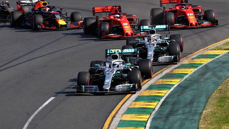 Start Grand Prix F1 Australia di Melbourne Sirkuit Grand Prix pada 17 Maret 2019 di Melbourne, Australia. Copyright: © Getty Image