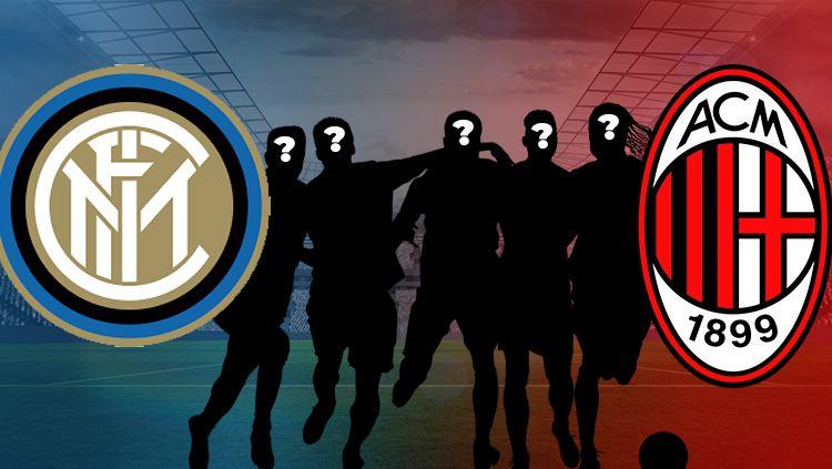 5 Pemain yang Pernah Bermain untuk Milan dan Inter Salah satunya Ronaldo dan Ibrahimovic. Copyright: © INDOSPORT/Yooan Rizky Syahputra