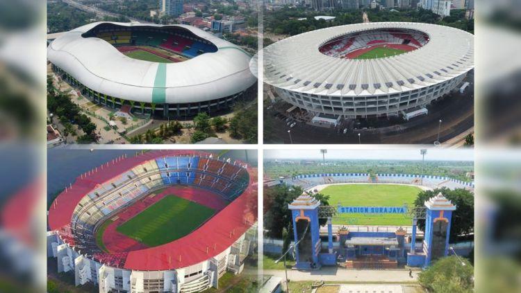 4 Stadion Jadi Venue Perempatfinal Piala Presiden. Copyright: © Indosport.com