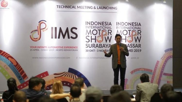 Perhelatan Indonesia International Motor Show (IIMS) 2019 sudah dipastikan bakal digelar pada 25 April hingga 5 Mei 2019. Copyright: © indonesianmotorshow