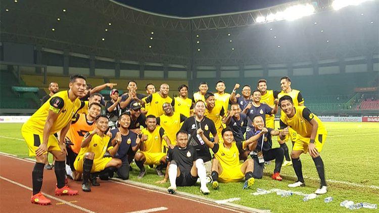 Bhayangkara fc setelah melawan Bali United pada (15/3/2019). Copyright: © Instagram/bhayangkara fc