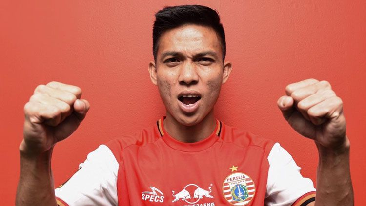 Yogi Rahardian pemain baru Persija Jakarta Copyright: © Persija Jakarta