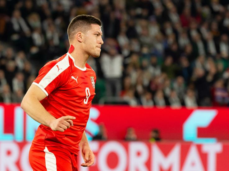 Luka Jovic, Wonderkid Fenomenal Serbia yang Bobol Gawang Jerman