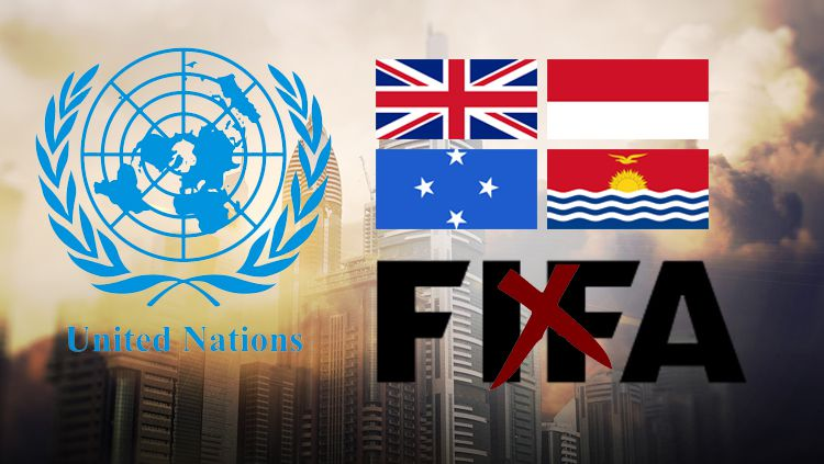 9 Timnas Negara yang Diakui PBB, tapi Bukan Anggota Resmi FIFA (Micronesia, Kiribati, Kep. Marshall, Monaco, Nauru, Palau, Tuvalu, Vatikan, Britania Raya) Copyright: © INDOSPORT