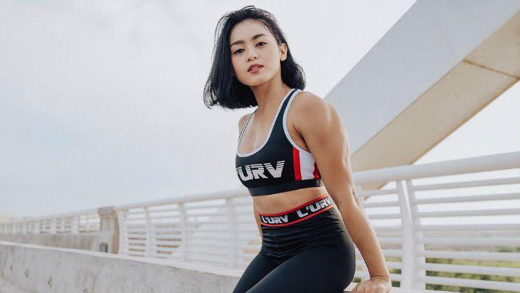 Pelatih fitness Nadira Diva Vitani. Copyright: © Instagram/Nadira Diva Vitani