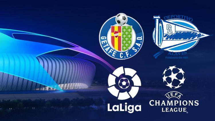 Getafe, Alaves, Laliga, Liga Champions Copyright: © INDOSPORT