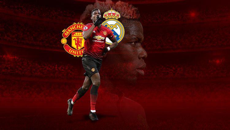 Tiga hal yang buat Man United harus pasrah ditinggal Paul Pogba ke Real Madrid. Copyright: © INDOSPORT