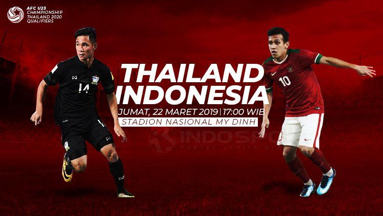 Prediksi Thailand U-23 vs Indonesia U-23 Copyright: © Eli Suhaeli/INDOSPORT