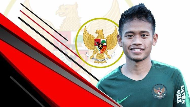 Fredyan Wahyu, salah satu pemain Timnas Indonesia U-23. Copyright: © PSSI