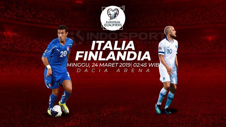 Prediksi Italia vs Finlandia Copyright: © INDOSPORT
