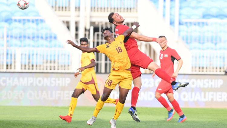Situasi pertandingan Palestina vs Sri Lanka Copyright: © the-afc.com