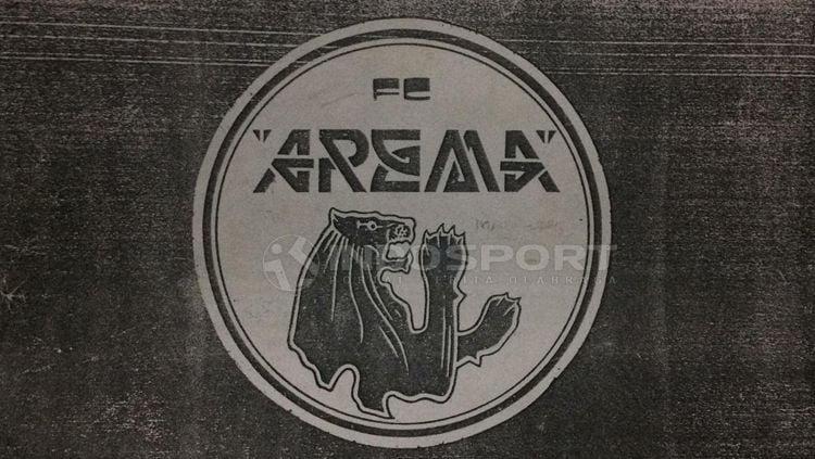 Awal mula logo arema sejak berdiri 1987 silam. Copyright: © Ian Setiawan/INDOSPORT