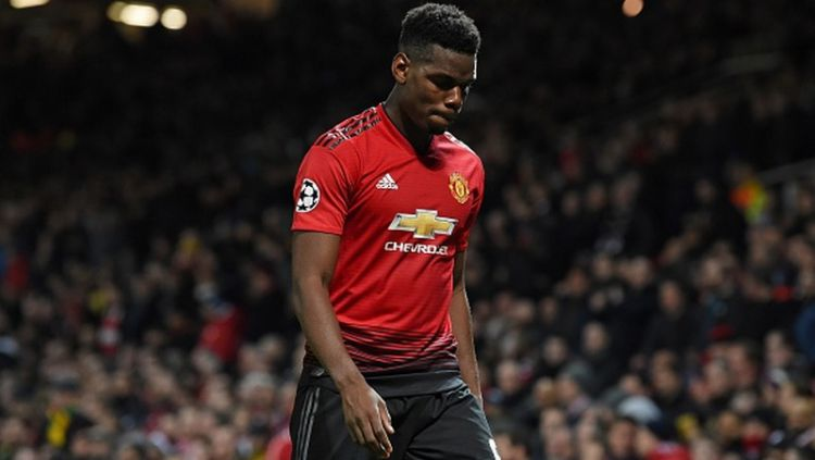 Paul Pogba ingin meninggalkan Manchester United. Copyright: © PAUL ELLIS/AFP/Getty Images