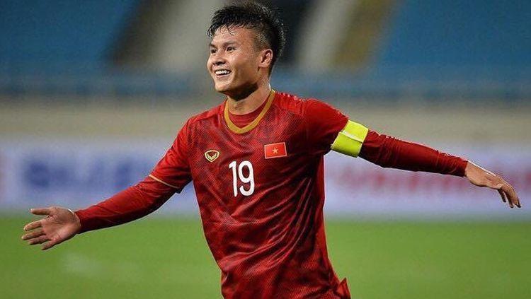 Ngyuen Quang Hai bisa menjadi ancaman bagi seluruh peserta grup G Kualifikasi Piala Dunia 2022, termasuk Indonesia. Copyright: © Instagram.com/nguyenquanghai12041997