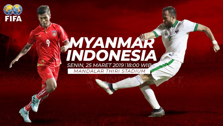 Prediksi Myanmar vs Indonesia Copyright: © INDOSPORT