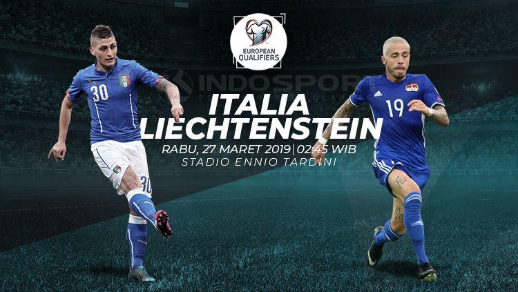 Prediksi Italia vs Liechtenstein Copyright: © INDOSPORT