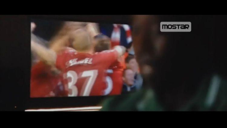 Pertandingan Liverpool ada di Film Iron Man 3 Copyright: © Youtube