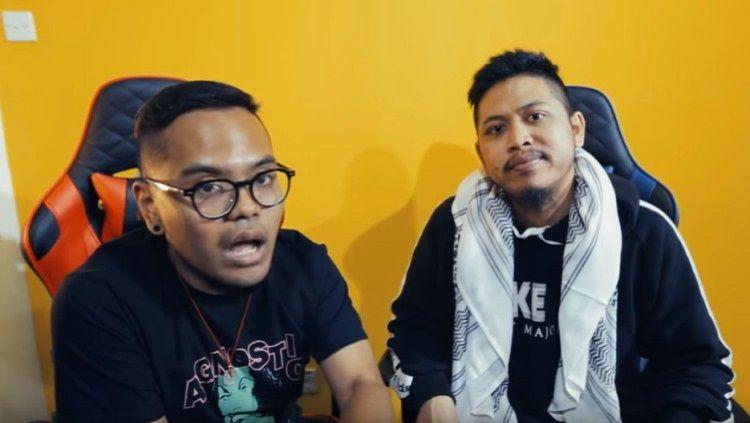 Komika Coki Pardede dan Tretan Muslim Copyright: © Youtube/MLI Gaming