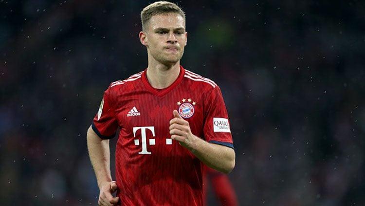 Joshua Kimmich, bek sayap Bayern Munchen. Copyright: © A. Beier/Getty Images