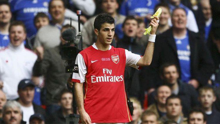Mantan gelandang Arsenal, Cesc Fabregas. Copyright: © UK Sports
