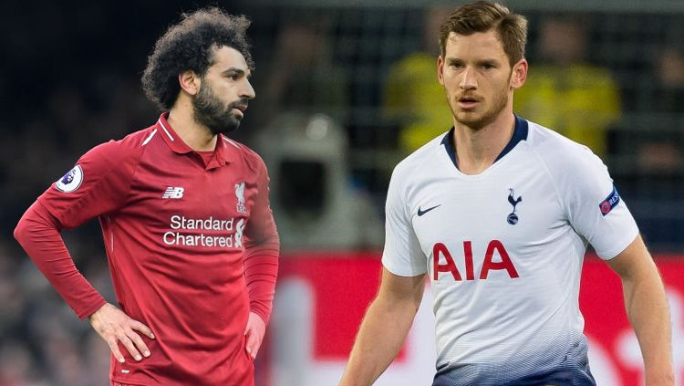 Mohamed Salah vs Jan Vertonghen Copyright: © TF-Images/Michael Regan/Getty Images