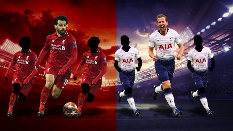 Liverpool vs Tottenham Hotspur Copyright: © Eli Suhaeli/INDOSPORT