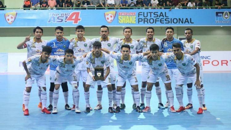 Vamos Mataram berhasil melaju ke babak perempatfinal Piala AFC Futsal 2019. Copyright: © Twitter