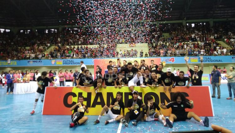 Vamos Mataram juara PFL 2019. Copyright: © Ronald Seger Brabowo/Indosport.com