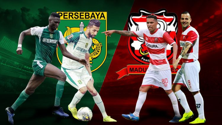 Persebaya Surabaya vs Madura United Copyright: © Eli Suhaeli/INDOSPORT