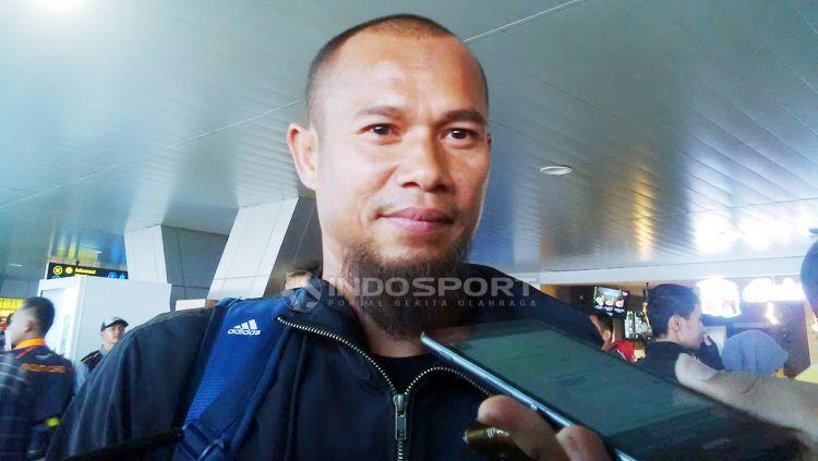 Kapten tim Persib Bandung, Supardi Nasir bersyukur timnya bisa meraih kemenangan dilaga kandang Shopee Liga 1 2019, setelah menaklukkan Persebaya Surabaya dengan skor 4-1. Copyright: © Arif Rahman/Indosport.com