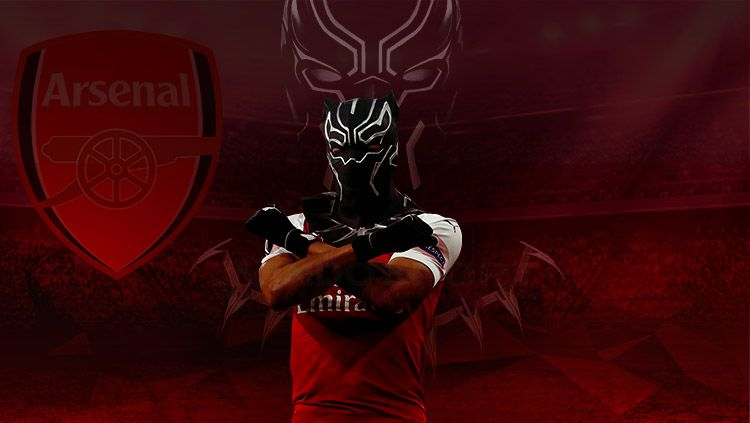 Mikel Arteta sudah seharusnya bertanggung jawab atas seretnya gelontoran gol yang dimiliki oleh Pierre Emerick Aubameyang bersama Arsenal saat ini. Copyright: © Indosport/Yooan Rizky Syahputra
