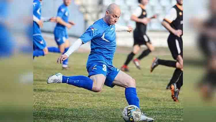 Milo Micunovic, striker Serbia yang Diincar Bhayangkara FC dan Arema FC Copyright: © instagram.com/milomicunovic