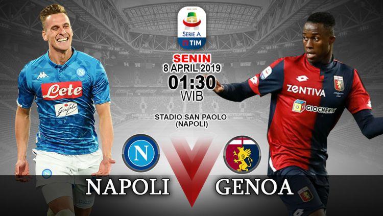 Prediksi Liga Italia Serie A 2018 19 Napoli Vs Genoa Tunda Juventus Indosport